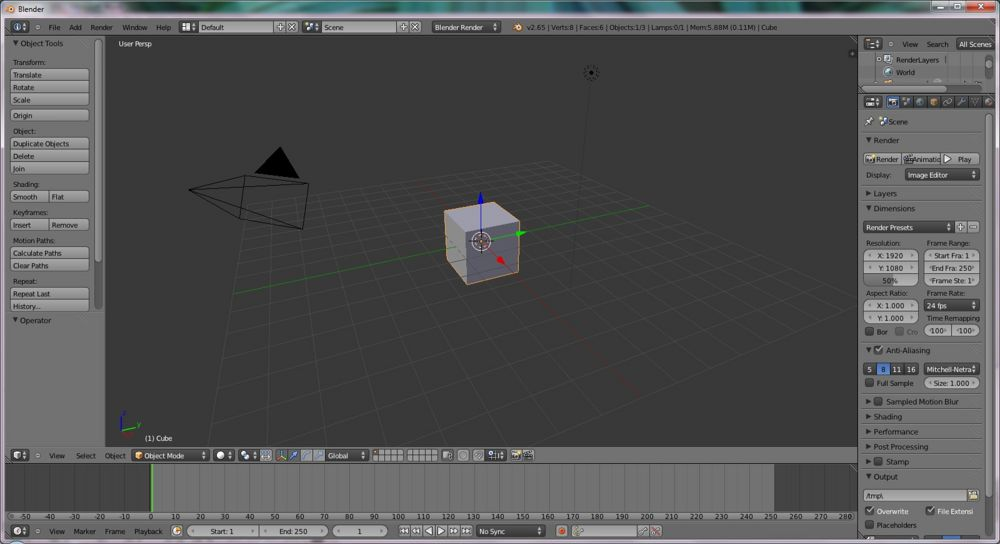 Tutorial Blender To Cad